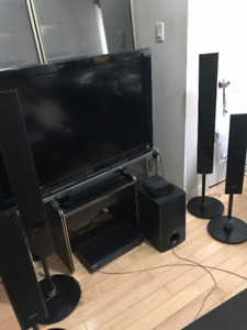 SONY 5.1 Channel Home Theatre System, Sub-Woofer, Tower Speakers