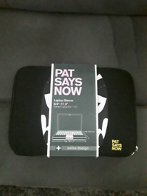 PAT SAYS NOW LAPTOP SLEEVE BRAND NEW