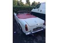 MG Midget 1966 1275cc Roadster Old English White
