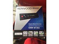 Kenwood KMM-BT302 Car stereo/headunit