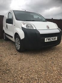 2012 fiat fioriono 1300cc mot 29th September all good tyres £2495ono