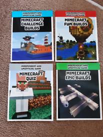 Minecraft Books (4)