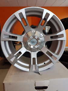 Set of four(4) 18X9 Silver Bullet