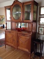 Hand carved French sideboard