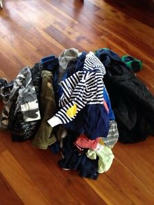 Huge lot of 12-18 month boy clothing