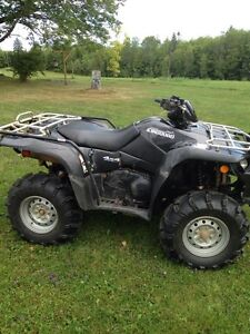 09 Suzuki 450 king quad
