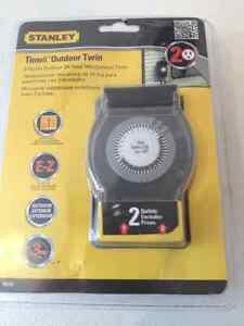 TIMER MINUTERIE EXTERIEURE STALEY NEUF