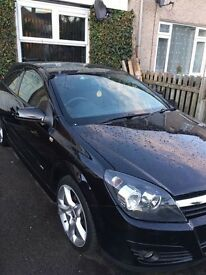 2009 VAUXHALL ASTRA SRI XP BLACK