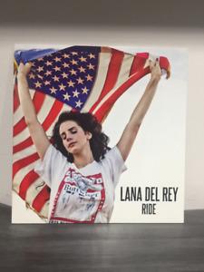"""Lana Del Rey - 7"""", Single Vinyl 45 - """"Ride"""""""