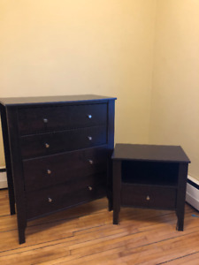 Dresser and Side Table for Sale!!!