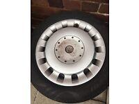 Mini x2 steel wheel - 4stud (175-65-15)