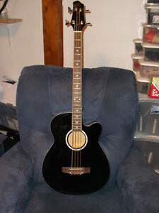 Acoustic /Electric Bass Guitar