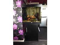 Juwel 200 litre cube aquarium fish tank and stand