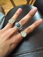 Mens Stunning Diamond Rings! 3 For the Price of 1