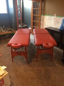 2 MASSAGE TABLES - Will sell separately