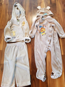 Winnie The Pooh outfits - 18 to 24 months