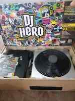 Dj hero for ps3 with turntable like new PlayStation 3