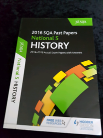 History National 5 Past Papers & others