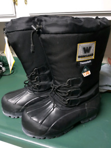 CSA approved felt pack workboots.