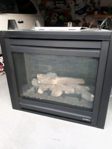 GAS Fireplace Modern insert-Brand new-   Heat n Glo