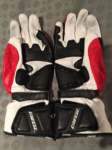 Dainese Guanto Joust - Med Red/Black/White