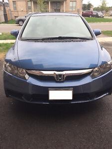 Low mileage 2010 Honda Civic DX Sedan in mint condition