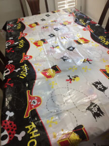 Pirate themed table cover for sale