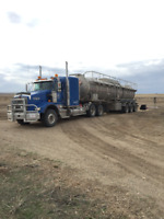 TRUCK DRIVER/FLUID HAULER WANTED