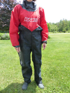 "Men's Small ""Bare"" Brand Dry-suit"