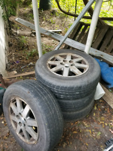 4 buick rendezvous tires and rims