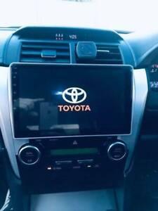 Toyota aurion******2017 car DVD GPS head unit free reverse camera
