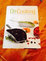 On Cooking Culinary Book