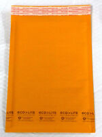 LOT OF 10 BOXES OF ECOLITE KRAFT BUBBLE MAILERS #2, #5, & #7