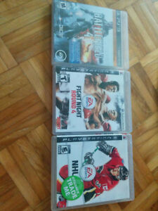 Selling 3 PS3 games