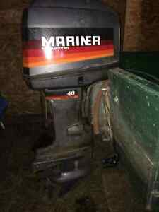 40 HP MAGNUM MARINER OIL INJECTED