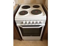 Indesit 4 Hob Electric Cooker and Oven