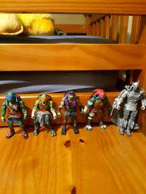 Teenage mutant ninga turtles figure set