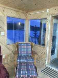 Grand chalet HABITABLE à l'année sur la zec Onatchiway Saguenay Saguenay-Lac-Saint-Jean image 3