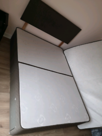 Dreams double bed with 4 drawers including dreams mattress if wanted