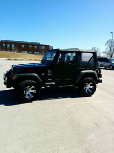 2001 Jeep TJ Priced to Sell!!