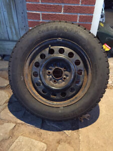 15in. Winter Tires on rims - used one season only
