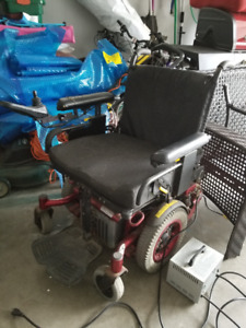 Electrick Wheelchair Great indoors and out.
