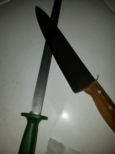 Affutage de couteau