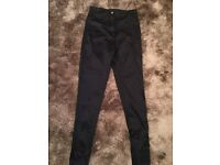 Topshop - Petite Size 10 - Shiny leggings