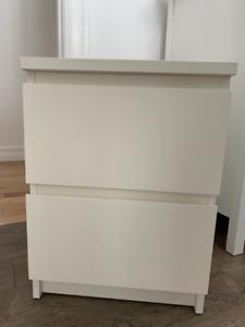 Ikea MALM end table / nightstand