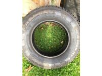 205/75/16 snow tyres van rated