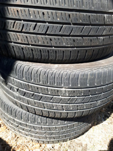 3×CONTINENTAL CONTIPRO CONTACT 225/55R17 (97H)