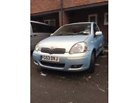 TOYOTA YARIS T-SPIRIT D4D 2003 great condition only 125000 miles
