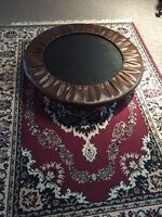 EXCELLENT LEATHER TRAMPOLINE for play and exercise