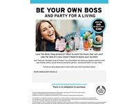 Party for a living with The Body Shop at Home!!!